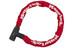 Masterlock 8391 Zapięcie kablowe 8 mm x 900 mm czerwony